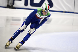 February 8, 2019 - Torino, Italia - Foto LaPresse/Nicolò Campo .8/02/2019 Torino (Italia) .Sport.ISU World Cup Short Track Torino - 1500 meter Men Quater Finals.Nella foto: Tommaso Dotti..Photo LaPresse/Nicolò Campo .February 8, 2019 Turin (Italy) .Sport.ISU World Cup Short Track Turin - 1500 meter Men Quater Finals.In the picture: Tommaso Dotti (Credit Image: © Nicolò Campo/Lapresse via ZUMA Press)