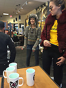 EXCLUSIVE<br /> Kate Hudson, Nick Jonas spotted together in Starbucks Mammoth lakes <br /> California <br /> ©Exclusivepix Media