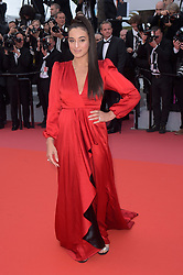 "71st Cannes Film Festival 2018, Red Carpet film ""Blackkklansman"". Pictured: Camelia Jordana"