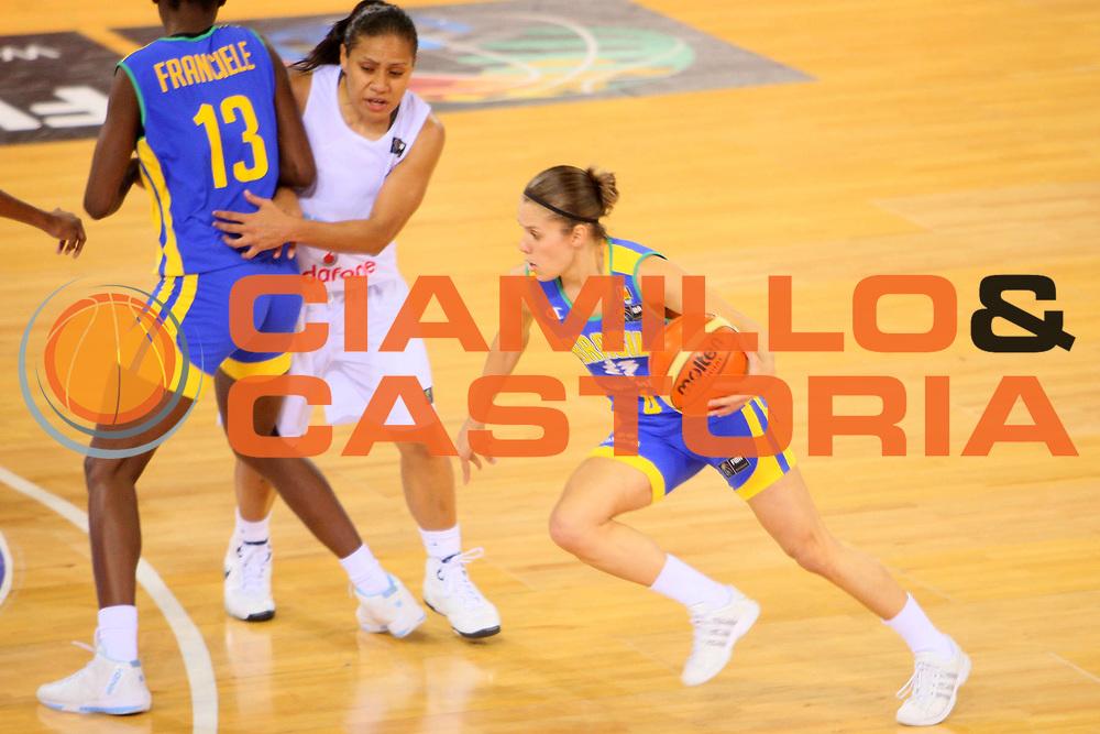 DESCRIZIONE : Madrid 2008 Fiba Olympic Qualifying Tournament For Women Fiji Brazil <br /> GIOCATORE : Natalia Mars Burian <br /> SQUADRA : Brazil Brasile <br /> EVENTO : 2008 Fiba Olympic Qualifying Tournament For Women <br /> GARA : Fiji Brazil Brasile <br /> DATA : 10/06/2008 <br /> CATEGORIA : Palleggio <br /> SPORT : Pallacanestro <br /> AUTORE : Agenzia Ciamillo-Castoria/S.Silvestri <br /> Galleria : 2008 Fiba Olympic Qualifying Tournament For Women <br /> Fotonotizia : Madrid 2008 Fiba Olympic Qualifying Tournament For Women Fiji Brazil <br /> Predefinita :