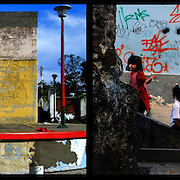 DAILY VENEZUELA II / VENEZUELA COTIDIANA II<br /> Photography by Aaron Sosa <br /> <br /> Left: San Jose de Rio Chico, Miranda State - Venezuela 2007 / San Jose de Rio Chica, Estado Miranda - Venezuela 2007<br /> <br /> Right: Caracas - Venezuela 2008<br /> <br /> (Copyright © Aaron Sosa)