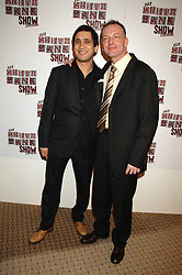 Left to right, JIMI MISTRY and HUGO SPEAR at the South Bank Show Awards held at The Dorchester, Park Lane, London on 29th January 2008.<br />