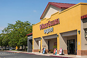 Beach Galleria and Paris Baguette at Los Coyotes Shopping Center Buena Park