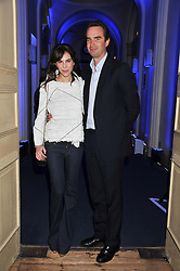CAROLINE SIEBER and FRITZ VON WESTENHOLZ at the Vogue Festival 2012 in association with Vertu held at the Royal Geographical Society, London on 20th April 2012.