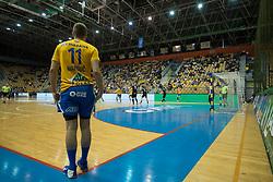 Handball match between RK Celje Pivovarna Lasko and RK Gorenje Velenje in last round of Liga NLB 2018/19, on May 31st, 2019, in Arena Zlatorog, Celje, Slovenia. RK Celje PL became Slovenian National Champion in year 2019. Photo by Milos Vujinovic / Sportida