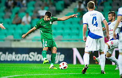 Rok Kronaveter of Olimpija during football match between NK Olimpija Ljubljana and NK Celje in 3rd Round of Prva liga Telekom Slovenije 2018/19, on Avgust 05, 2018 in SRC Stozice, Ljubljana, Slovenia. Photo by Vid Ponikvar / Sportida