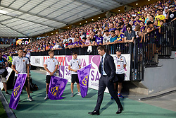 Steven Gerrard, head coach of FC Rangers during 2nd Leg football match between NK Maribor and Rangers FC in 3rd Qualifying Round of UEFA Europa League 2018/19, on August 16, 2018 in Stadion Ljudski vrt, Maribor, Slovenia. Photo by Urban Urbanc / Sportida