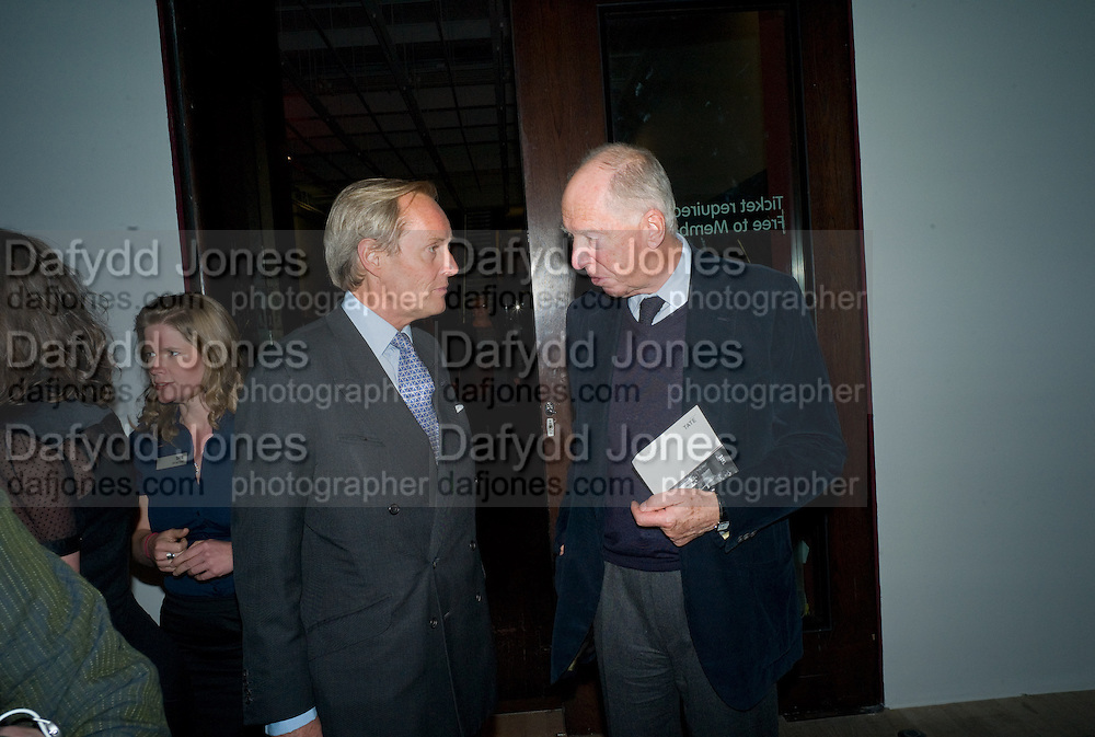 THE MARQUESS OF DOURA; JACOB ROTHSCHILD, Mark Rothko private view. Tate Modern. 24 September 2008 *** Local Caption *** -DO NOT ARCHIVE-© Copyright Photograph by Dafydd Jones. 248 Clapham Rd. London SW9 0PZ. Tel 0207 820 0771. www.dafjones.com.