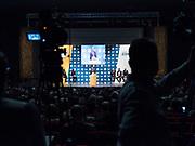 Luigi Di Maio, candidato premier del movimento 5 Stelle, durante un ainiziativa elettorale. Torino, 17 febbraio 2018. Guido Montani / OneShot<br /> <br /> Luigi Di Maio, candidate for prime minister of Five Star Movement (M5S), attends an electoral event. Turin, 17 february 2018. Guido Montani / OneShot