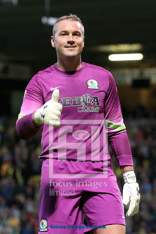 Blackburn Rovers goalkeeper Paul Robinson during the Sky Bet Championship match at Carrow Road, Norwich<br /> Picture by Paul Chesterton/Focus Images Ltd +44 7904 640267<br /> 19/08/2014