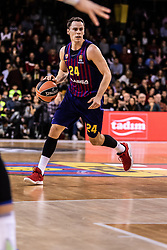 November 1, 2018 - Barcelona, Barcelona, Spain - Kyle Kuric, #24 of FC Barcelona Lassa in actions during EuroLeague match between FC Barcelona Lassa and Maccabi Fox Tel Aviv  on November 01, 2018 at Palau Blaugrana, in Barcelona, Spain. (Credit Image: © AFP7 via ZUMA Wire)