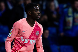 December 8, 2018 - Barcelona, BARCELONA, Spain - 11 Ousmane Dembele of FC Barcelona during the Spanish championship La Liga football match between RCD Espanyol v FC Barcelona on December 08, 2018 at RCD Stadium stadium in Barcelona, Spain. (Credit Image: © AFP7 via ZUMA Wire)