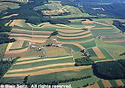 Northeast PA farmlands, Aerial, Lehigh Co. Aerial Photograph Pennsylvania