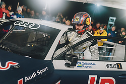 01.02.2020, Flugplatz, Zell am See, AUT, GP Ice Race, im Bild Marcel Hirscher im Audi RX S1 // Marcel Hirscher drives a Audi RX S1 during the GP Ice Race at the Airfield, Zell am See, Austria on 2020/02/01. EXPA Pictures © 2020, PhotoCredit: EXPA/ JFK