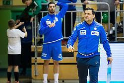 Ljubomir Vranjes head coach of Slovenia during friendly handball match between national teams Slovenia and Montenegro on 4th Januar, 2020, Trbovlje, Slovenia. Photo By Grega Valancic / Sportida