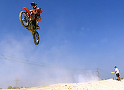 Motorcross competition in Dubai.