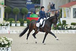 Merkulova Inessa, (RUS), Mister X<br /> Grand Prix Special<br /> CDIO Hagen 2015<br /> © Hippo Foto - Stefan Lafrentz