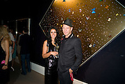 SERENA REES; PAUL SIMONON, Damien Hirst party to preview his exhibition at Sotheby's. New Bond St. London. 12 September 2008 *** Local Caption *** -DO NOT ARCHIVE-© Copyright Photograph by Dafydd Jones. 248 Clapham Rd. London SW9 0PZ. Tel 0207 820 0771. www.dafjones.com.