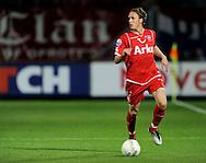 13-09-2008 VOETBAL:FC TWENTE:NEC NIJMEGEN:ENSCHEDE <br /> Ronnie Stam debuteerde vanavond thuis<br /> Foto: Geert van Erven