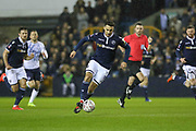 Millwall forward Lee Gregory (9) during the The FA Cup fourth round match between Millwall and Everton at The Den, London, England on 26 January 2019.