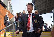 Manchester United Manager Louis van Gaal before the Barclays Premier League match between Crystal Palace and Manchester United at Selhurst Park, London, England on 31 October 2015. Photo by Phil Duncan.