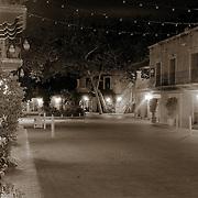 The view down one of Tlaquepaque's streets, Sedona, AZ