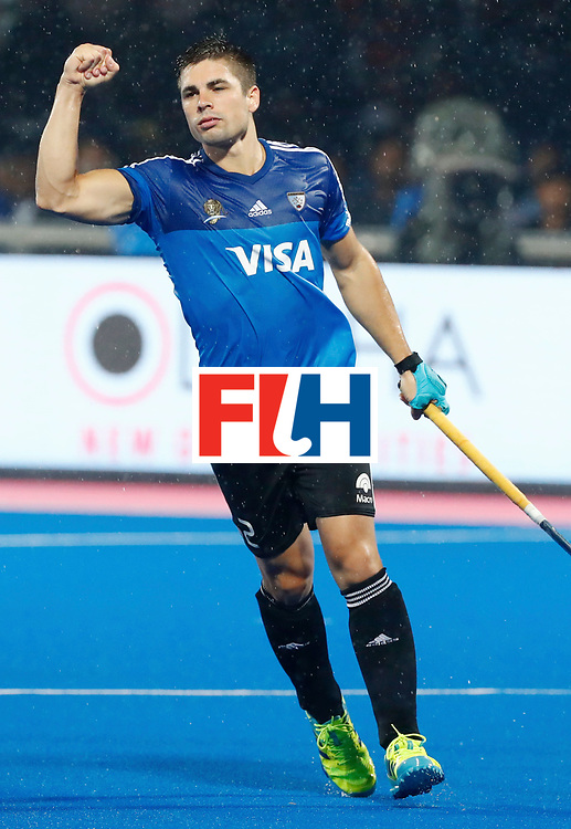 Odisha Men's Hockey World League Final Bhubaneswar 2017<br /> Match id:19<br /> India v Argentina<br /> Foto: Gonzalo Peillat (Arg) <br /> COPYRIGHT WORLDSPORTPICS KOEN SUYK