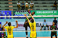 BANGKOK, THAILAND - MARCH 19: KIssada Nilsawai of Air Force VC #20 in action during the 2016–17 Men's Volleyball Thailand League Championship, Chantarubeksa Air Force Stadium, Bangkok, Thailand on March 19, 2017.<br /> .<br /> .<br /> .<br /> (Photo by: Naratip Golf Srisupab/SEALs Sports Images)<br /> .<br /> Any image use must include a mandatory credit line adjacent to the content which should read: Naratip Golf Srisupab/SEALs Sports Images