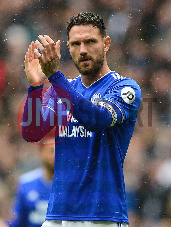 Sean Morrison of Cardiff City - Mandatory by-line: Alex James/JMP - 06/10/2018 - FOOTBALL - Wembley Stadium - London, England - Tottenham Hotspur v Cardiff City - Premier League