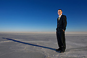 Salt Flats Portrait.  ©COLIN E BRALEY