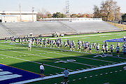 Kansas KS USA, Football practice at Washburn University (Topeka, KS)