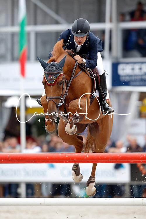 Pessoa Rodrigo (BRA) - GC Atlanta Z <br /> FEI World Championship Young horses - Lanaken 2013<br /> &copy; Dirk Caremans
