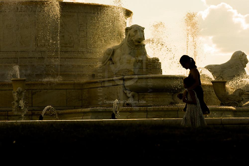 James Scott Memorial Fountain, Belle Isle, Detroit, Michigan