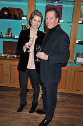 A dinner hosted by Ruinart Champagne in honour of David Linley was held at Linley, 60 Pimlico Road, London SW1 on 8th December 2011.<br /> DAVID & SERENA LINLEY