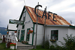 Seaview Cafe, downtown Hope, Alaska, United States of America