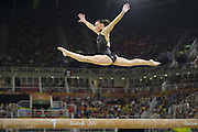 August 15, 2016 - Rio de Janeiro, RJ, Brazil - Catalina Ponor - Romania, on the balance beam during women's individual balance beam final in artistic gymnastics at Olympic Arena.<br /> ©Exclusivepix Media