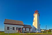 East Point Lighthouse<br />East Point<br />Prince Edward Island<br />Canada