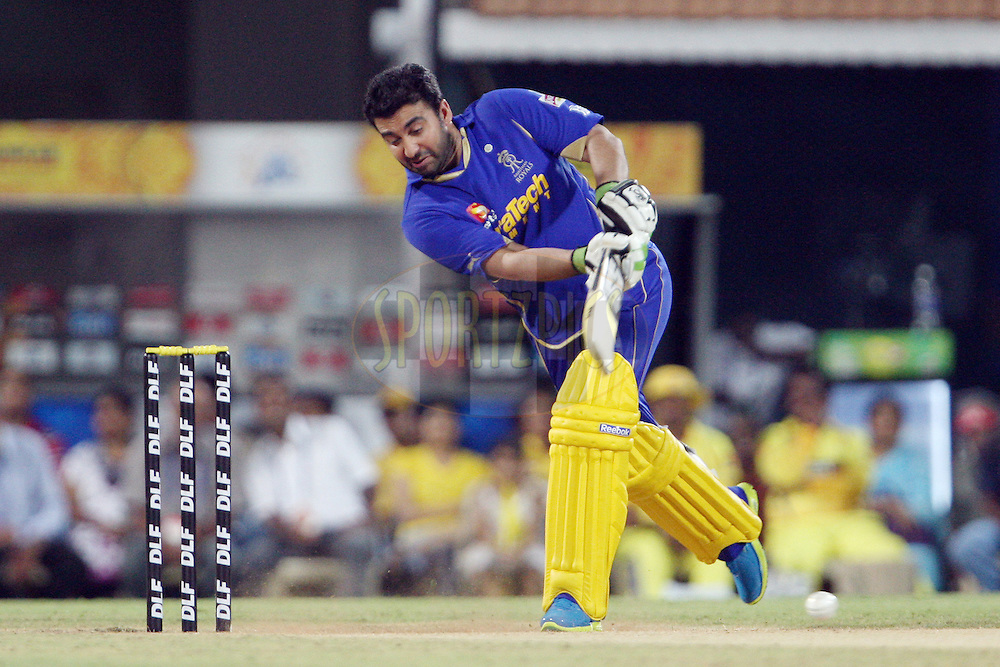 Raj Kundra during match 26 of the the Indian Premier League ( IPL) 2012  between The Chennai Superkings Owners and the Rajasthan Royals Owners held at the M. A. Chidambaram Stadium, Chennai on the 21st April 2012..Photo by Jacques Rossouw/IPL/SPORTZPICS
