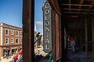 Colonial Theater Marquee Removal 14Apr20
