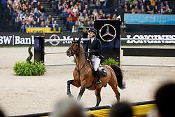 Leprevost Penelope, FRA, Urano De Cartigny<br /> Stuttgart German Masters 2017<br /> © Hippo Foto - Dirk Caremans<br /> 17/11/17