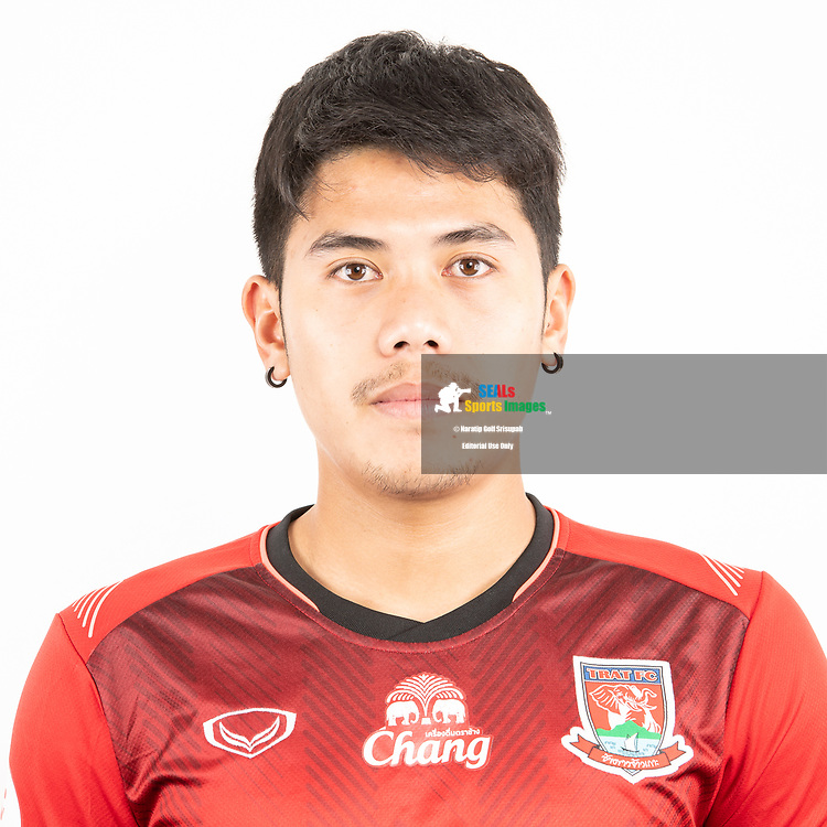 THAILAND - JUNE 12: Tachanon Nakarawong #8 of Trat FC on June 12, 2019.<br /> .<br /> .<br /> .<br /> (Photo by: Naratip Golf Srisupab/SEALs Sports Images/MB Media Solutions)