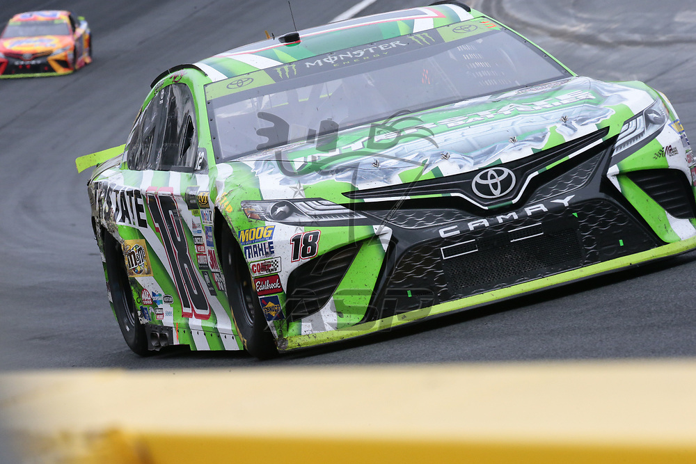 October 08, 2017 - Concord, North Carolina, USA: The Monster Energy Cup Series teams take to the track for the Bank of America 500 at Charlotte Motor Speedway in Concord, North Carolina.