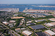 Aerial Photography of Portal St.. Warehouse in Baltimore