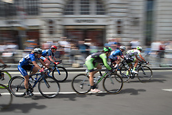 Katie Archibald (GBR) of Team WNT whizzes past the elegant shops of Regent Street during Stage 5 of the OVO Energy Women's Tour - a 62 km road race, starting and finishing in London on June 11, 2017, in London, United Kingdom. (Photo by Balint Hamvas/Velofocus.com)