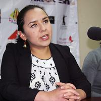TOLUCA, Mexico.- Ana Luz Carvajal Moll, presidenta de Empresarios jóvenes durante el anuncio de la realización de la Primer Cumbre Internacional de Empresarios Jóvenes que se realizara en Toluca. Agencia MVT / Jose Hernandez.