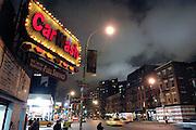 USA, Nordamerika, New York, New York City, Manhattan, Chelsea, Carwash on 10th Avenue   (digital photo: 3200 ASA/ 36 DIN )