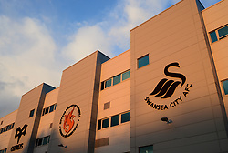 General view outside the Liberty Stadium. - Mandatory by-line: Alex James/JMP - 27/02/2018 - FOOTBALL - Liberty Stadium - Swansea, England - Swansea City v Sheffield Wednesday - Emirates FA Cup fifth round proper