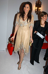 MINNIE DRIVER at the Moet & Chandon Fashion Tribute 2005 to Matthew Williamson, held at Old Billingsgate, City of London on 16th February 2005.<br /><br />NON EXCLUSIVE - WORLD RIGHTS
