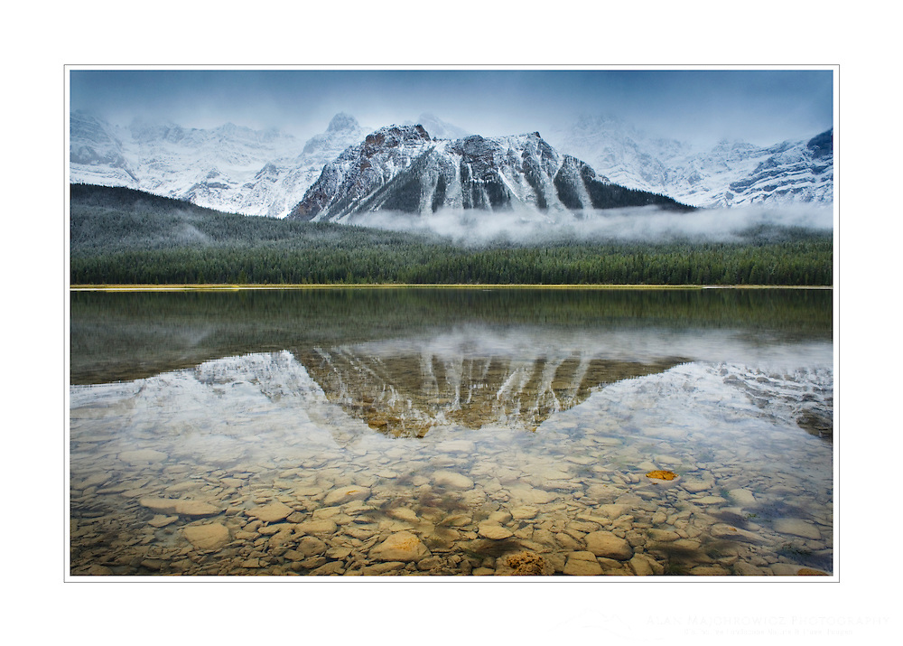 Upper Waterfowl Lake, Banff National Park  Alberta
