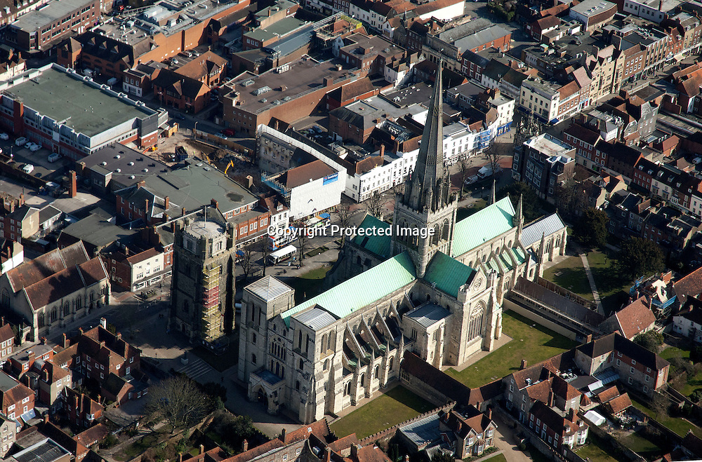 The Cathedral Church of the Holy Trinity, otherwise called Chichester Cathedral, is the seat of the Anglican Bishop of Chichester. It is located in Chichester, in Sussex, England. It was founded as a cathedral in 1075, when the seat of the bishop was moved from Selsey.